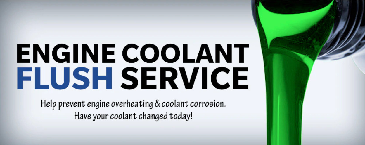 $20 Off Coolant Flush Service